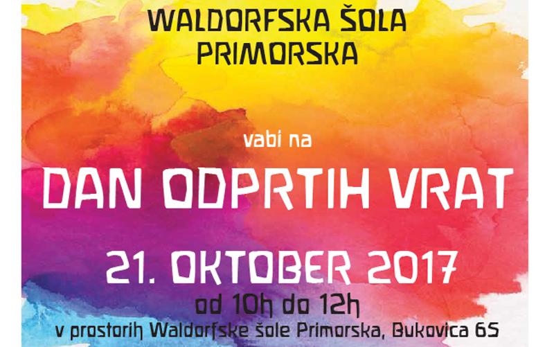 Waldorfska šola na Primorskem vabi na dan odprtih vrat