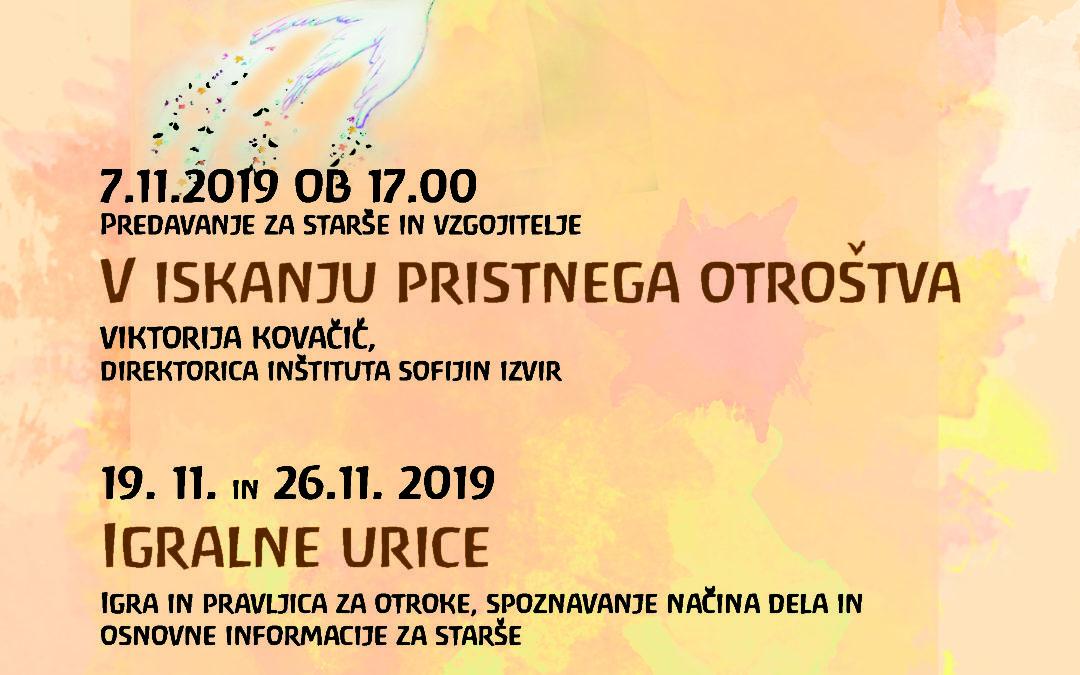 Jesensko pisano dogajanje v vrtcu Kresnica, Bukovica